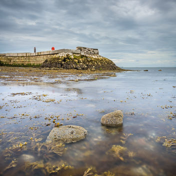 Low tide at Fishermans Quay - image gratuit #461415