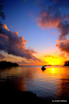 Sunset by iezalel williams - Isle of Pines in New Caledonia - IMG_6080-001 - Canon EOS 700D - Kostenloses image #462495
