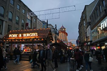 Northumberland Street at Christmas - image #465985 gratis