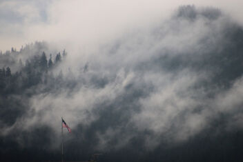 Flag In The Fog - Kostenloses image #477675