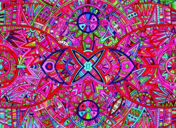 Kaleidoscopic Patterns - Kostenloses image #478345